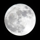Phase of the moon, full moon. Ukraine, Donetsk region 19.03.11 Super Moon. Distance less is than 356577 km stock images