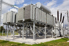 Phase shifting transformer Royalty Free Stock Images