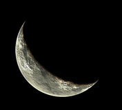 Phased moon Stock Photography