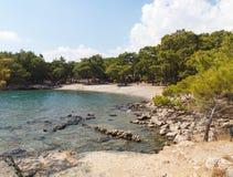 Phaselis Bay, Turkey stock photos