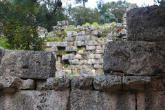 Phaselis ruins in Turkey Stock Photography
