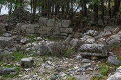 Phaselis ruins in Turkey Stock Photos