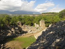Phaselis, Turkey Royalty Free Stock Images