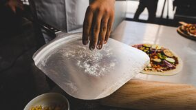 Free Phases Of Preparation Of Pizza Making Stock Photos - 192706673