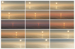 Phases Of Sun Stock Photography
