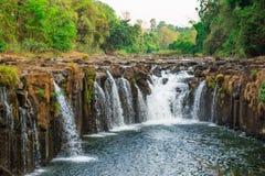 Phasom-Wasserfall Lizenzfreies Stockbild
