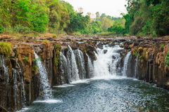 Phasom waterfall royalty free stock image