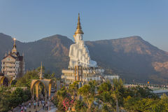 Phasornkaew tempel Fotografering för Bildbyråer