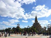 Phasornkaew tempel i Thailand arkivfoto