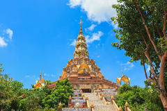 Phasornkaew Temple ,that place for meditation Royalty Free Stock Photography