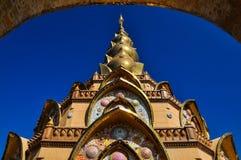 Phasornkaew temple. Wat Phra Dhat Phasornkaew at Khao Kho, Petchabun Stock Photography