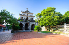 Phat Diem cathedral #6 Royalty Free Stock Photos