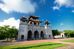 Phat Diem Cathedral, Ninh Binh, Vietnam. Royalty Free Stock Photo