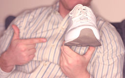 Phat shoes Royalty Free Stock Image