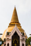 Phatatpratomjedi is a big pagoda in thailand Royalty Free Stock Photo