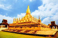 Phathat Luang Stock Afbeeldingen