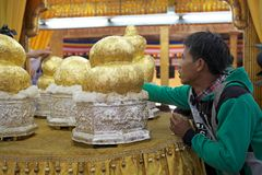 Phaung Daw Oo pagod Royaltyfri Foto