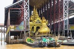 Phaung Daw Oo Pagoda Royalty Free Stock Photos