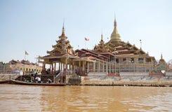 Phaung kawki Oo pagoda Fotografia Stock