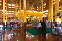 Phaung kawki Oo pagoda, Inle jezioro, Myanmar Fotografia Royalty Free