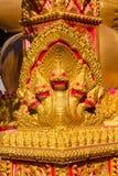 Phaya Naga chronią Świątynnego Wat w Tajlandia zdjęcie royalty free