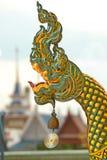 Phaya Naga head. Royalty Free Stock Image