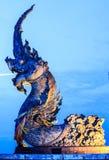 Phaya Naga statue Royalty Free Stock Photography