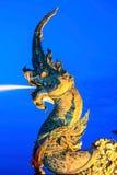 Phaya Naga statue Royalty Free Stock Images