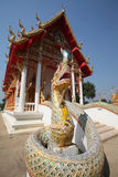 Phaya Naga of Wat Bang Krai Royalty Free Stock Photo
