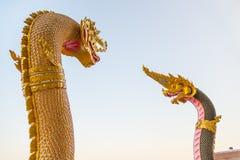 Phaya nak dla religii fotografia stock