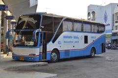 Phayakkhaphum Phisai to Maha Sarakham Province of suranaree air company bus car Stock Photos