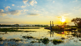 Phayao lake Royalty Free Stock Images