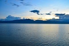 Phayao sjö Arkivbild