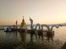 Phayao sjö Arkivbilder