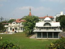 Phayathai Palace. European style Royal residence in Bangkok , Thailand Stock Photo
