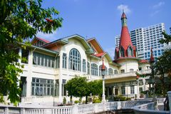 Phayathai-Palast Lizenzfreie Stockfotos