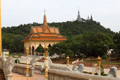 Phcum ben day pagoda in phnom penh Stock Photo
