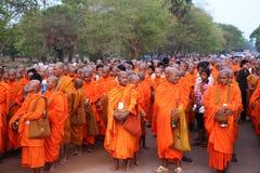 Phcum Ben dnia pagoda w phnom penh Obraz Royalty Free