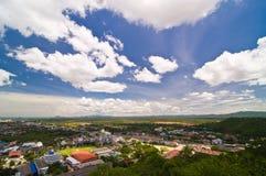 Phechburi横向,泰国 图库摄影