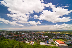 Phechburi横向,泰国 库存图片
