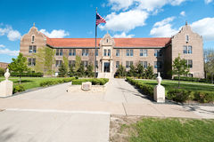 Phelps Hall at Winona State University Stock Images