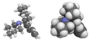Phencyclidine (PCP) Fotografie Stock Libere da Diritti