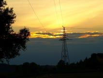 Phenomenal sunset Stock Photo