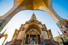 Phetchabun Tajlandia, Listopad, - 27, 2016: Piękny mozaika wystrój Obrazy Stock