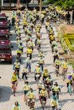 PHETCHABUN THAILAND - DECEMBER 11, 2015: Cykel för konungen Royaltyfri Fotografi