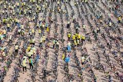 PHETCHABUN THAILAND - DECEMBER 11, 2015: Cykel för konungen Fotografering för Bildbyråer