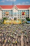 PHETCHABUN THAILAND - DECEMBER 11, 2015: Cykel för konungen Arkivbilder