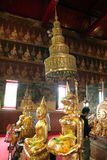 Phetchaburi-Provinz, Thailand haben Wat Mahathet ist alt in 200 Jahren Lizenzfreie Stockfotos