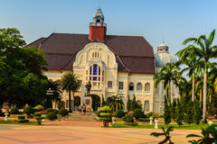 Phetchaburi, Tailandia - 19 marzo 2015: Bello paesaggio e Immagine Stock Libera da Diritti