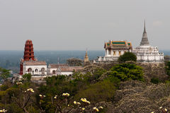 Phetchaburi Temple complex. Phetchaburi Temple located  in Thailand Stock Photos